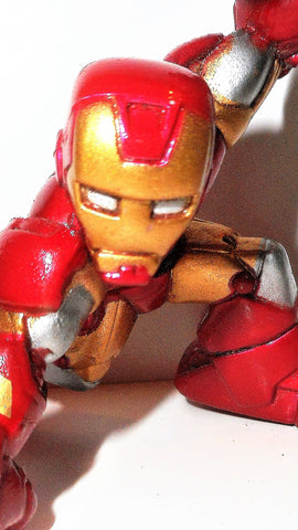Marvel Super Hero Squad IRON MAN High-tech showdown universe