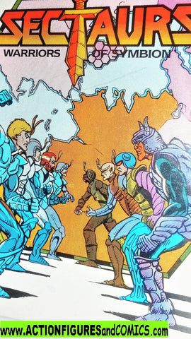 Sectaurs 1984 WARRIORS of SYMBION mini comic book vintage