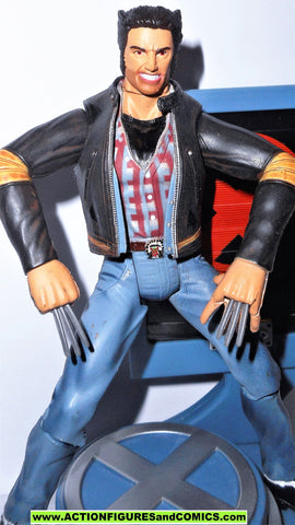 x-men WOLVERINE LOGAN toy biz 2000 the movie series marvel legends