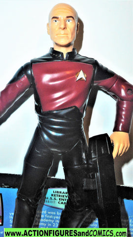 Star Trek CAPTAIN PICARD warp factor series 6 inch playmates toys