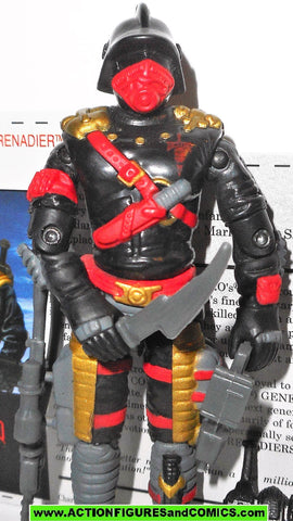 gi joe IRON GRENADIER 2005 v5 general mayhem M.A.R.S. Invades convention fc