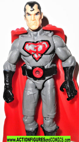 dc universe SUPERMAN 4 inch CUSTOM Red Son elseworlds direct