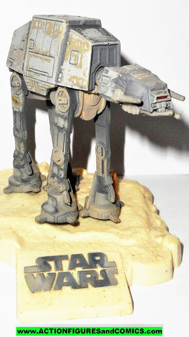 star wars titanium AT AT HOTH 3 inch vehicle