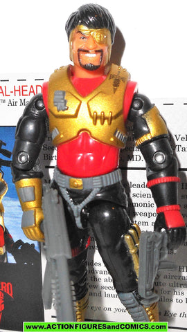 gi joe METAL HEAD iron grenadier 2005 v3 general mayhem convention