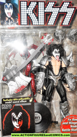 KISS mcfarlane toys GENE SIMMONS 7 inch ultra action figures moc