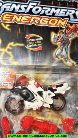 transformers energon ARCEE motorcycle 2003 hasbro cartoon moc 000