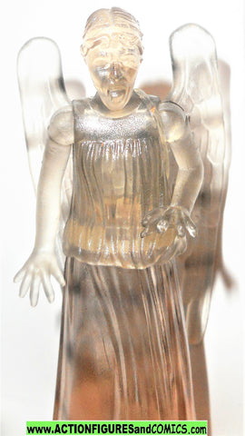 doctor who action figures WEEPING ANGEL clear 3.75 inch dr fig