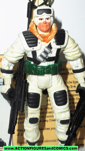 gi joe FROSTBITE 2002 v4 Complete gijoe vs cobra g i toy action figure