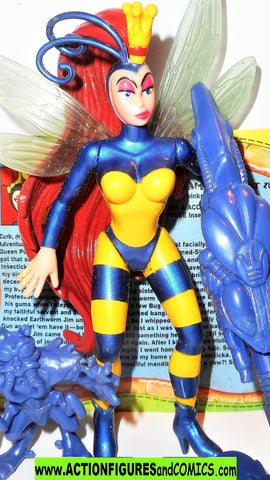 Earthworm Jim PRINCESS WHAT'S-HER-NAME queen bee complete playmates