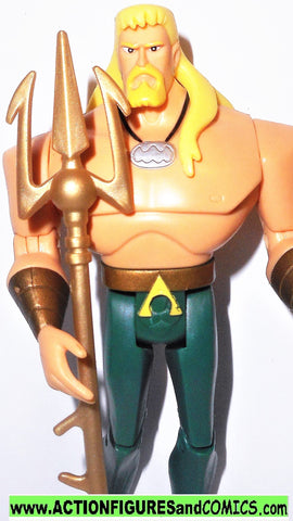 Copy of justice league unlimited AQUAMAN hook hand TRIDENT dc universe