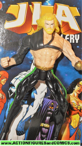 Total Justice JLA AQUAMAN 1998 kenner Hasbro toys action figures