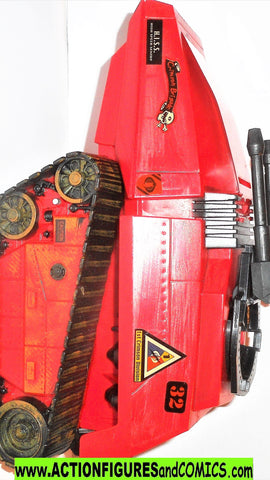 gi joe HISS Cobra 2004 CRIMSON RED target exclusive complete valor