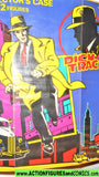 dick tracy COLLECTOR's CASE 1990 New complete playmates action figures