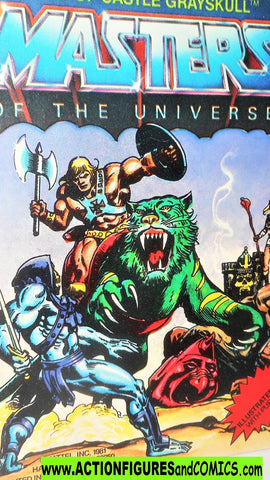 Masters of the Universe KING of CASTLE GRAYSKULL vintage He-man mini comic