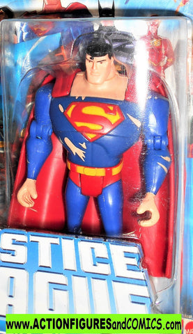 justice league unlimited SUPERMAN battle damage suit dc universe animated moc