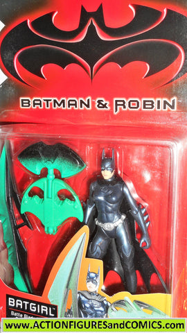 Batman & Robin movie BATGIRL 1997 kenner toy dc universe moc