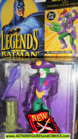 BATMAN legends of Batman THE JOKER Pirate laughing man 1994 dc universe moc