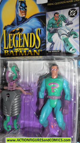 BATMAN legends of Batman RIDDLER 1994 dc universe kenner moc