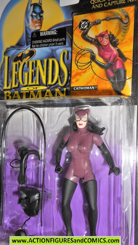 BATMAN legends of Batman CATWOMAN 1994 dc universe kenner moc