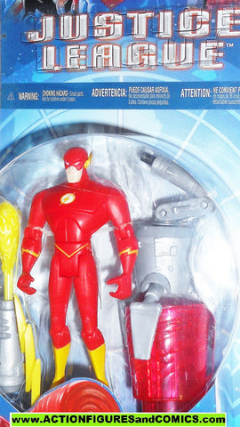 justice league unlimited FLASH cyber trakkers vs slobot jlu dc universe moc