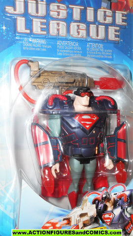 justice league unlimited SUPERMAN mega armor 2003 dc universe jlu moc