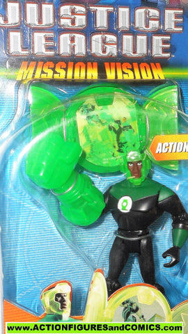 justice league unlimited GREEN LANTERN Jon stewart mission vision dc universe jlu moc