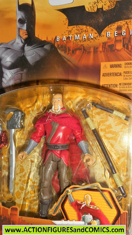 Batman begins RA'S AL GHUL 2005 movie action figures dc universe moc
