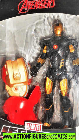 marvel legends IRON MAN now gold black hulkbuster series universe moc