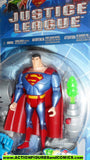 justice league unlimited SUPERMAN VS KRYPTOBOT cyber trakkers 2003 dc universe jlu moc