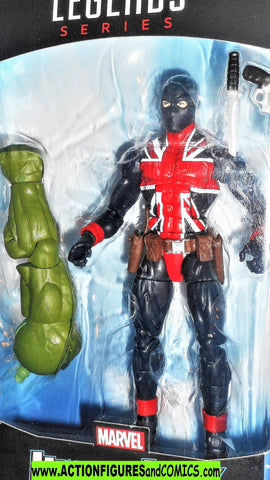 marvel legends UNION JACK 2018 avengers hulk series universe wave moc