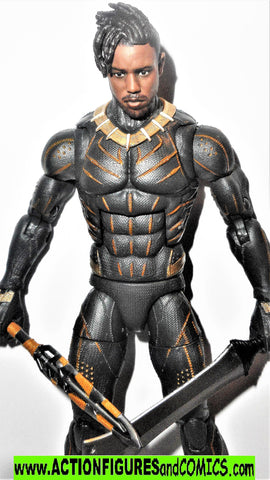 marvel legends ERIK KILLMONGER BLACK PANTHER suit movie everett 2 pack