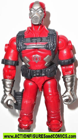 gi joe COBRA CLAWS 2004 v5 crimson venom striker driver valor