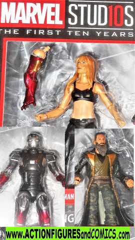 marvel legends PEPPER POTTS IRON MAN XXII MANDARIN movie moc mib