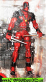 marvel select DEADPOOL 2015 7 inch x-men X-force red black moc