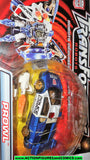 transformers RID PROWL 2001 blue robots in disguise police car cop cops 2000 moc