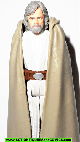 star wars action figures LUKE SKYWALKER jedi master force link last jedi