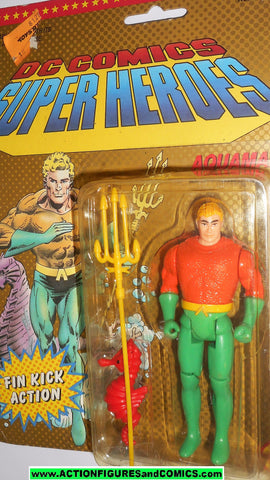 DC comics Super Heroes AQUAMAN 1990 toybiz universe super friends powers moc