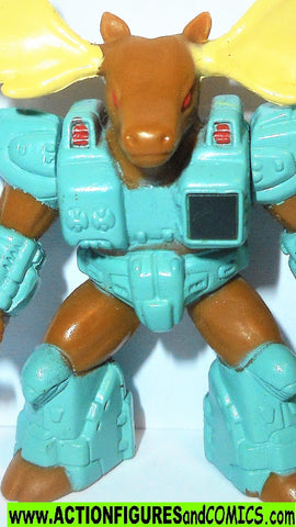 Battle Beasts MAJOR MOOSE 1986 vintage hasbro #33 transformers