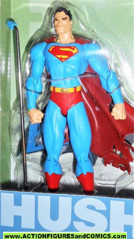 dc direct SUPERMAN Batman HUSH jim lee collectibles action figures