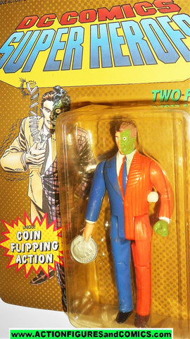 DC comics Super Heroes TWO FACE 1990 toy biz universe batman moc