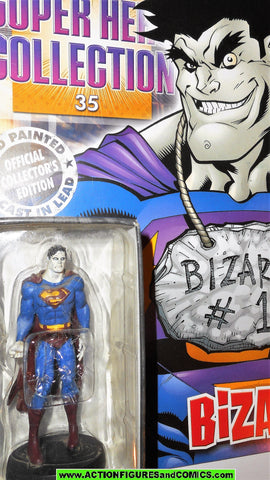 DC Eaglemoss chess BIZARRO SUPERMAN 17 1/21 scale figurine dc universe mag