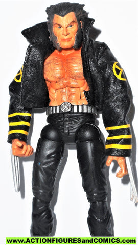 marvel legends WOLVERINE new x-men black jacket classic sentinel attack