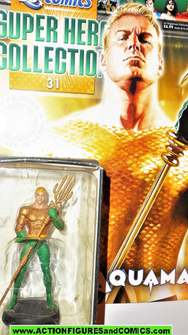 DC Eaglemoss chess AQUAMAN 31 aqua man 1/21 scale dc universe