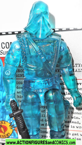 gi joe COBRA COMMANDER 2005 v23 holographic hologram DTC direct to consumer series complete