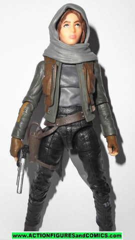 STAR WARS action figures JYN ERSO 6 inch THE BLACK SERIES rogue one jedha