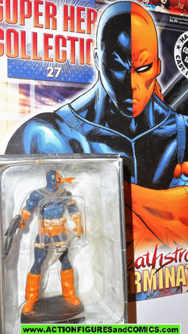 DC Eaglemoss chess DEATHSTROKE 27 new teen titans 1/21 scale dc universe