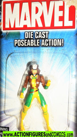 Marvel die cast ROGUE poseable action figure 2002 toybiz x-men universe moc 000