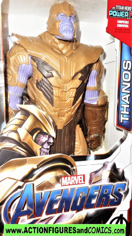 Marvel Titan Hero THANOS avengers 12 inch movie universe legends mib moc