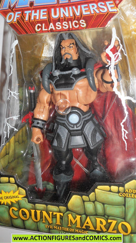 Masters of the Universe COUNT MARZO Classics he-man motu action figure moc