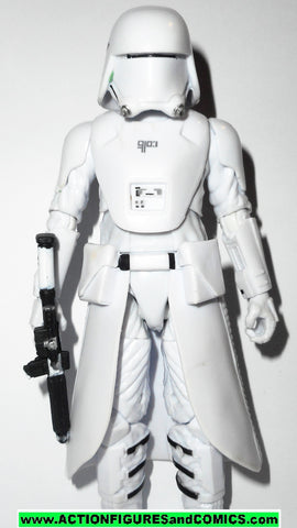 STAR WARS action figures SNOWTROOPER first order 6 inch THE BLACK SERIES